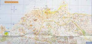 Plano de Puerto de la Cruz