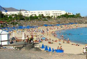 Playa Blanca. Playa Dorada.