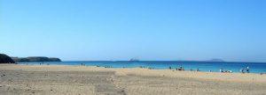 Lanzarote. Playa Mujeres.