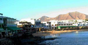 Lanzarote. Playa Blanca.