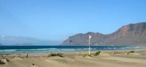 Lanzarote. Playa de Famara
