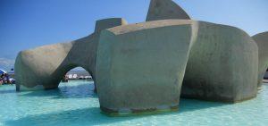 Puerto de la Cruz. Lago Martianez. Monumento al Mar