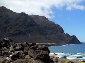 Tenerife. Carretera a Punta de Teno.