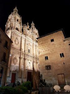 Salamanca. Clerecía y Casa de las Conchas