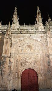 Salamanca. Catedral Nueva. Astronauta.