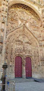 Salamanca. Catedral. Puerta del Nacimiento