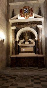 Salamanca. Convento de S.Esteban. Mausoleo III Duque de Alba.