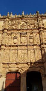 Salamanca. Fachada de la Universidad.