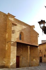 Salamanca. Iglesia de San Benito y casa de Maldonado