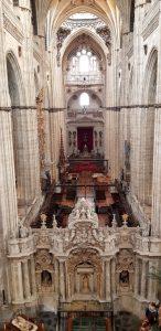 Salamanca. Interior Catedral.