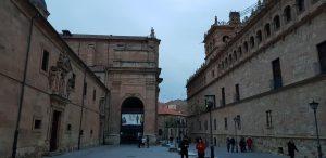 Salamanca. Palacio de Monterrey e Iglesia de la Purísima