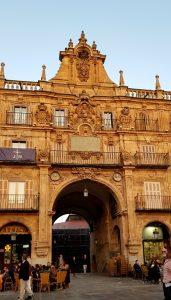 Salamanca. Plaza Mayor. Pabellón Real.