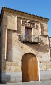 Salamanca. Casa de María la Brava