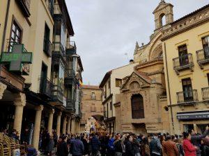 Salamanca. Plaza del Corrillo.