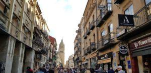 Salamanca. Rúa Mayor.