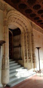 Salamanca. Universidad. Puerta de la Biblioteca