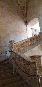 Salamanca. Universidad. Escalera.