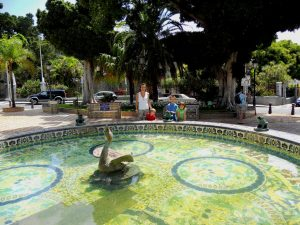 Santa Cruz de Tenerife. Plaza de los Patos.