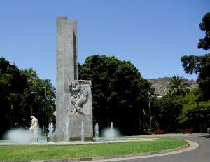 Santa Cruz de Tenerife. Parque Gracia Sanabria.