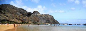 Tenerife. Santa Cruz. Playa de las Teresitas.