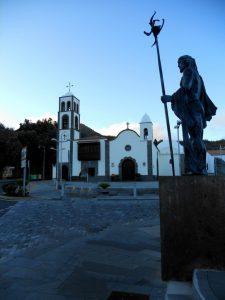 Santiago del Teide. Iglesia de San Fernando Rey,