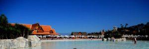 Siam Park. Playa.