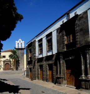 Tenerife. Garachico. Palacio de los Condes de La Gomera.