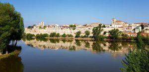 Zamora desde el Puente de Piedra