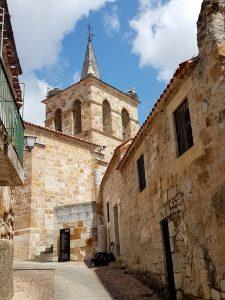 Zamora. Iglesia de San Cipriano. Bajada a Santa Lucía.