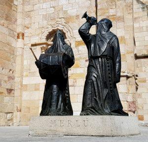 Zamora. Monumento al Merlú.