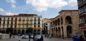 Zamora. Plaza Mayor.