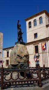 Zamora. Plaza de Viriato.