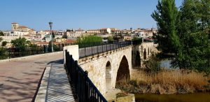 Zamora. Puente de Piedra.