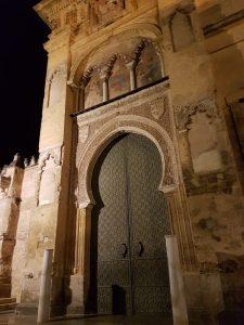 Córdoba. Entrada a la Mezquita