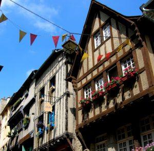 Bretaña. Dinan. Rue du Jerzual