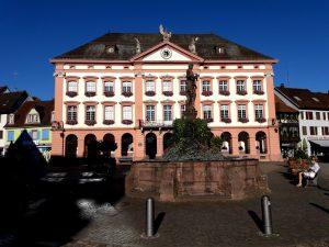 Gengenbach. Plaza del Mercado. Ayuntamiento