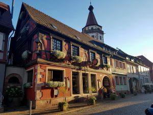 Gengenbach. Restaurante Frei.