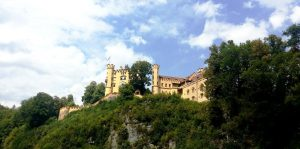 Neuschwanstein. Castillo de Hohenswangau