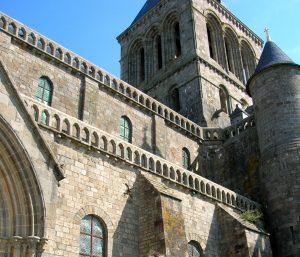 Normandía. Mont Saint Michel.