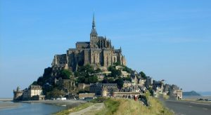 Mont Saint Michel. Normandía. Francia.