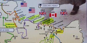 Normandía. Plano del Desembarco