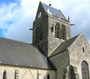 Normandía. Sainte Mére Église.