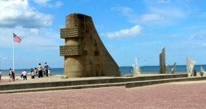 Normandía. Saint Laurent Sur Mer. Omaha Beah. Monumento a los Valientes.