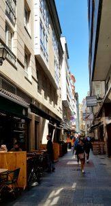 La Coruña. Calle Galera. Taberna da Galera.
