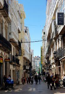 La Coruña. Calle Real