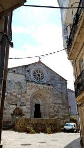 La Coruña. Iglesia de Santiago