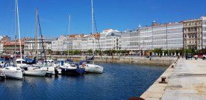 La Coruña. La Marina.