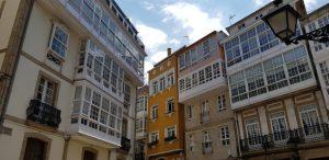 La Coruña. Plazuela de los Angeles.