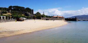 Bayona. Playa de Ribeira
