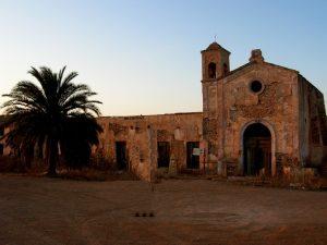 Cabo de Gata. Cortijo del Fraile.